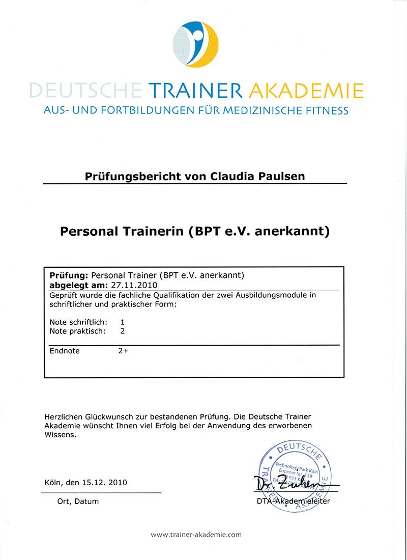 Zertifikate und Zeugnisse